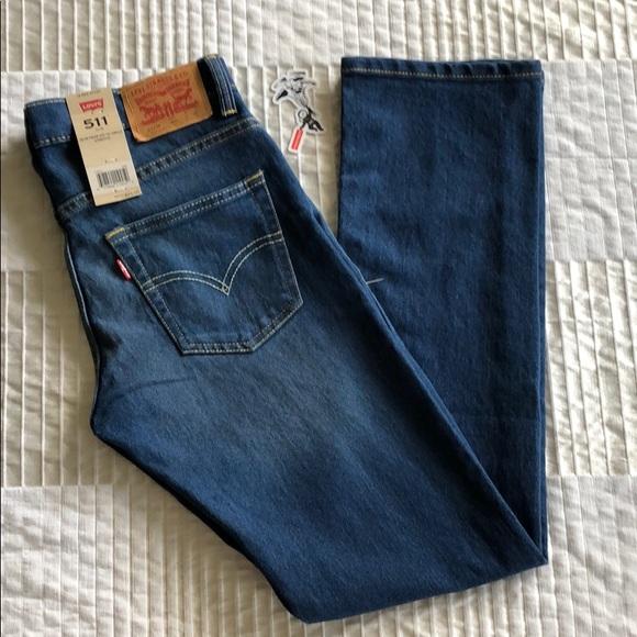 4f9b6eabec9 Levi's Bottoms | Boys Levis 511 Slim Fit Performance Jeans Size 14 ...